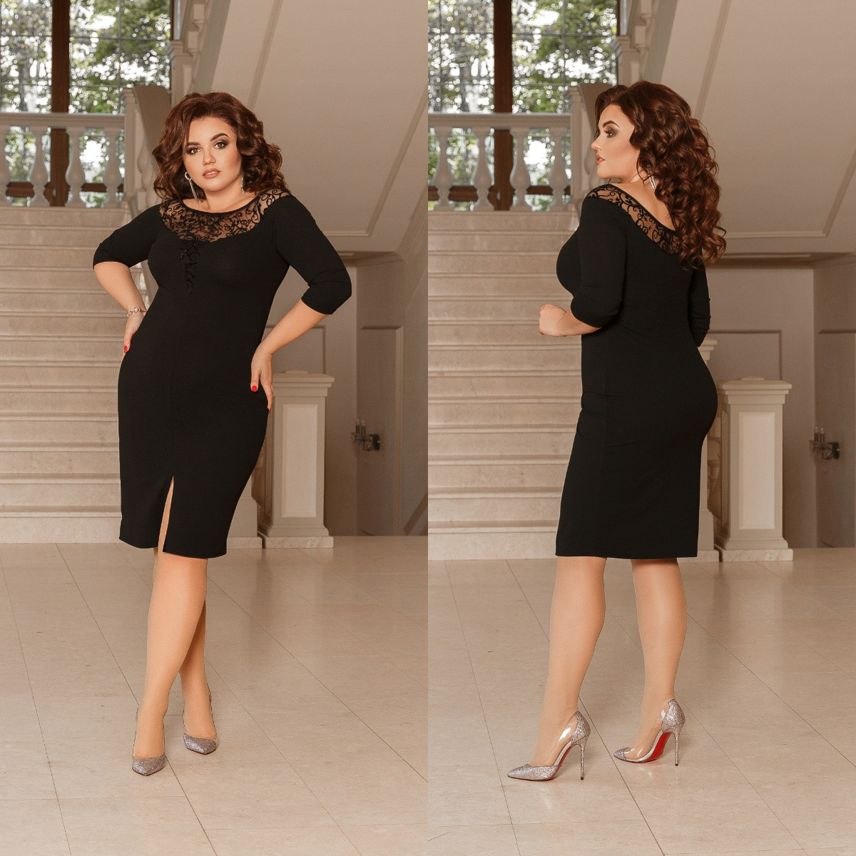Платье, №98, чёрное.