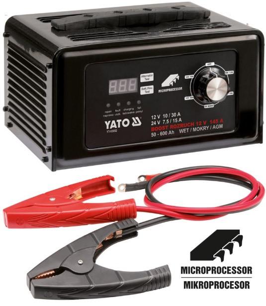 Преимущества пуско-зарядного устройства YATO YT-83052