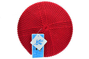 Шапка K-Option 55-57 см Красная (K-09118-9), фото 2
