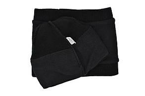 Комплект Flexfit шапка з помпоном и снуд Calvin Klein Чёрный (F-0918-46), фото 3