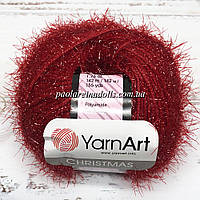 Пряжа ЯрнАрт Кристмас YarnArt Christmas, цвет №46 красный