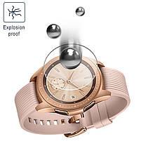 Закаленное защитное стекло для часов Samsung Galaxy Watch 42 мм., фото 6