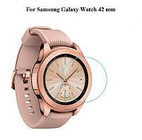 Закаленное защитное стекло для часов Samsung Galaxy Watch 42 мм., фото 2