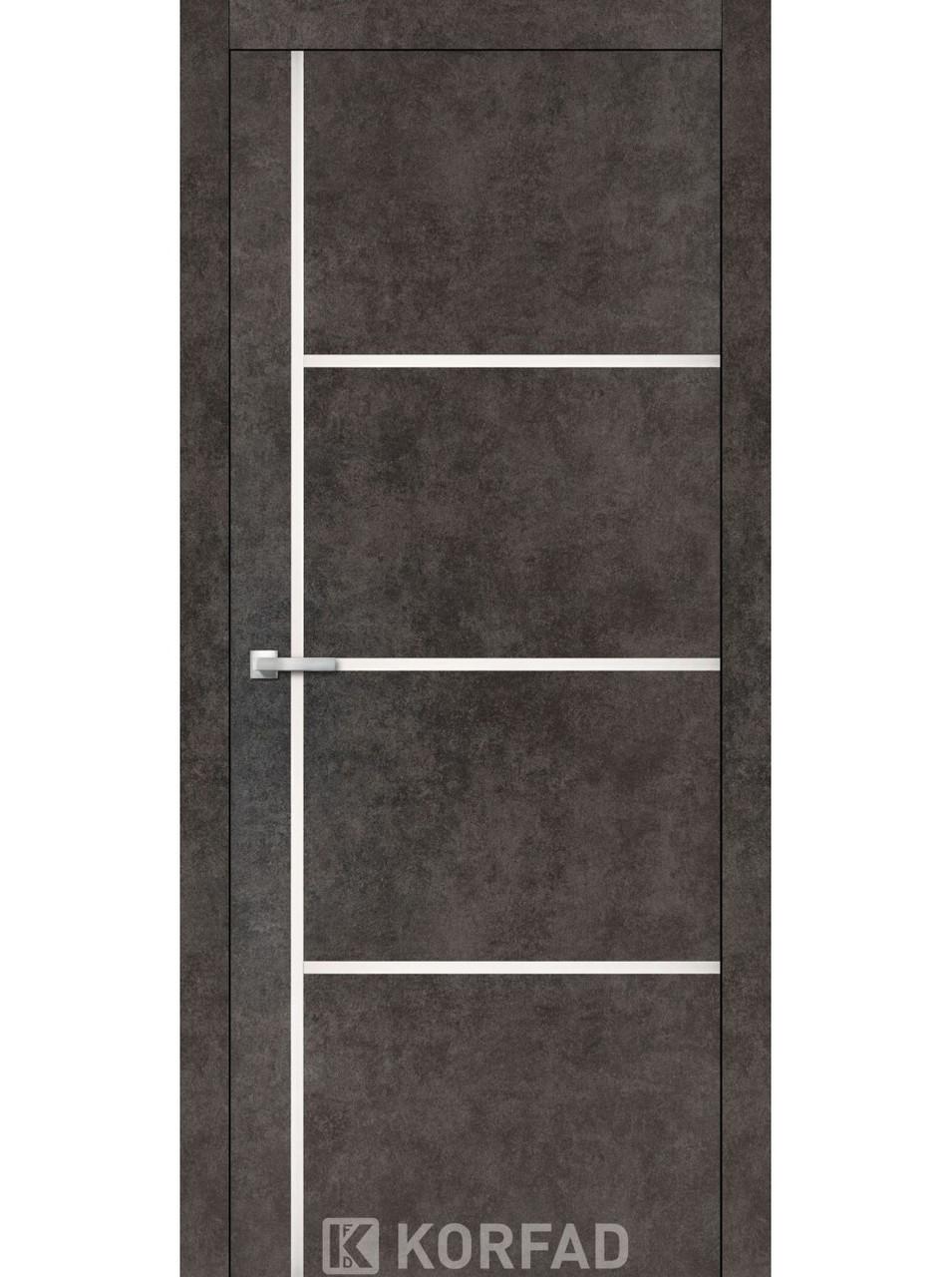 Двери Korfad ALP-08 Лофт бетон