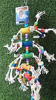 Игрушка для крупных попугаев, сизаль, Nobby