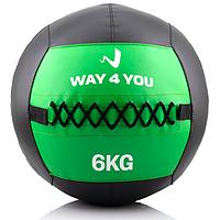 Набивний м'яч Way4you 6 кг
