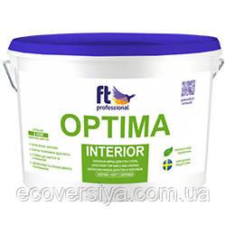 Латексная краска стойкая к мытью FT PRO Optima Interior 10
