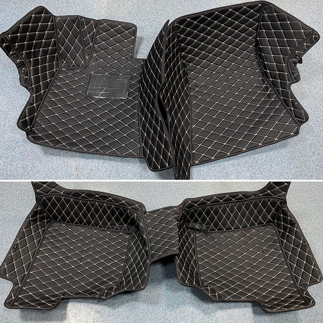 Комплект ковриков из экокожи для Mercedes S-class W221