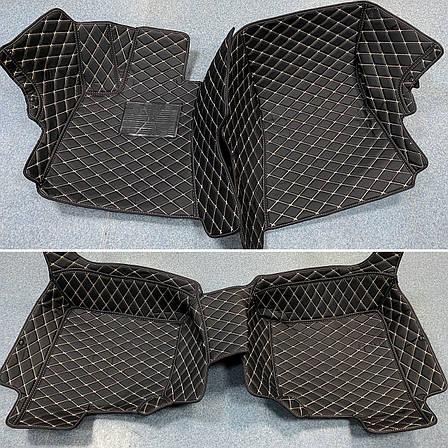 Комплект ковриков из экокожи для Mercedes S-class W221, фото 2