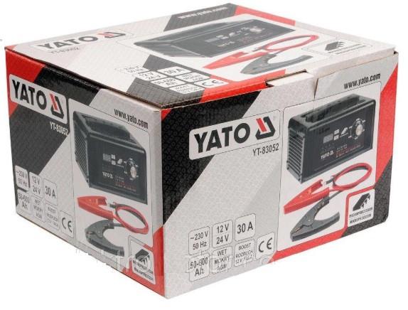 Официальная гарантия пуско-зарядного устройства YATO YT-83052