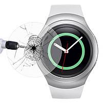 Закаленное защитное стекло для часов Samsung Galaxy Gear S2 Watch, фото 4