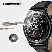 Закаленное защитное стекло для часов Samsung Galaxy Gear S2 Watch, фото 6