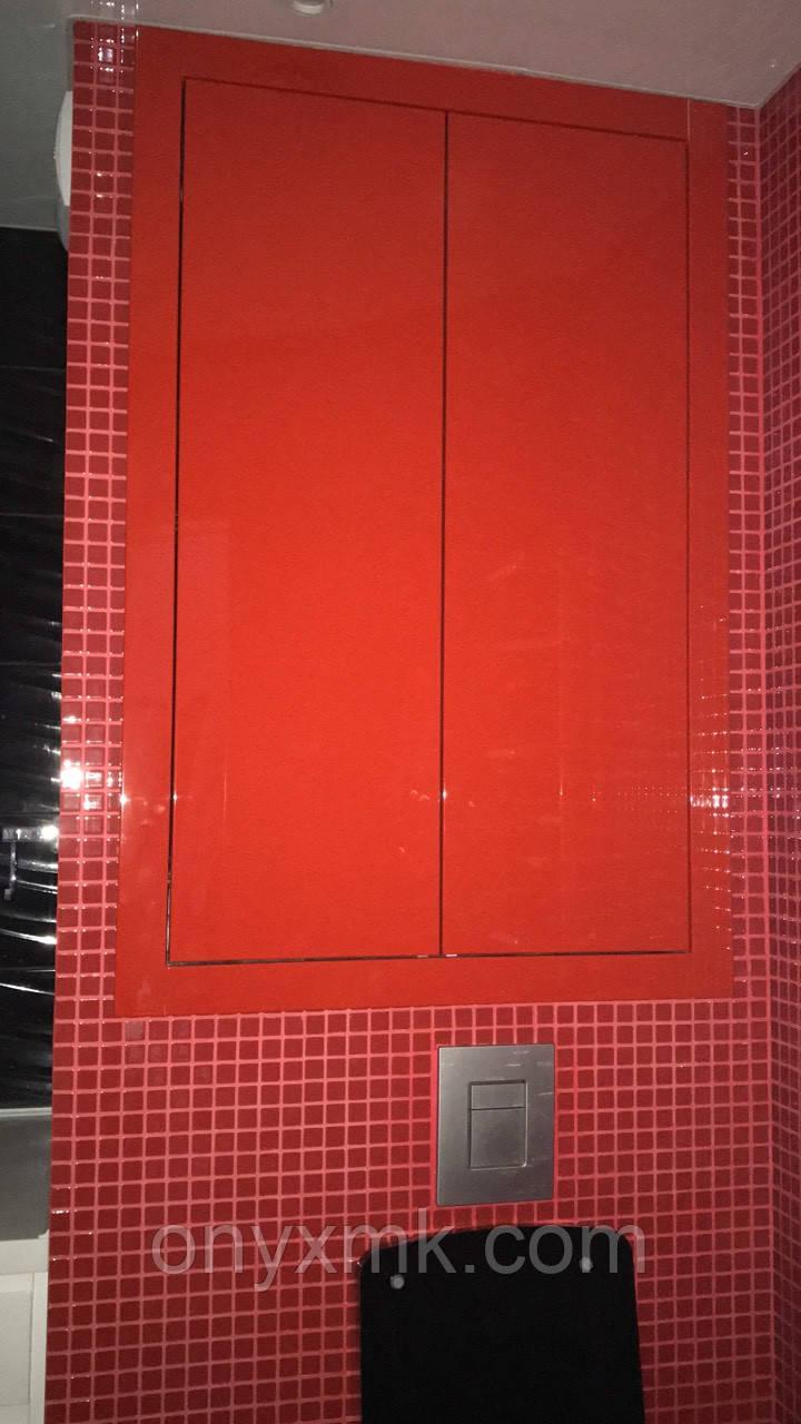 Зашивка ниши с коммуникациями в ванной комнате