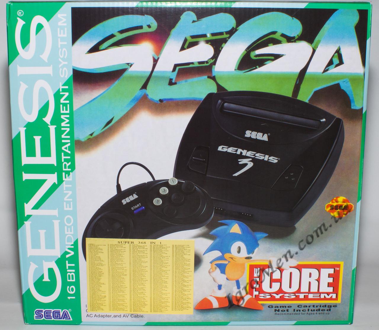 Sega Mega Drive 2|Genesis 3 (+5 ігор)