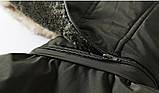 JP original Мужская куртка с подогревом экокожа джип парка, фото 9