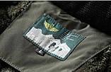 JP original Мужская куртка с подогревом экокожа джип парка, фото 10