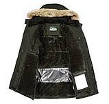 JP original Мужская куртка с подогревом экокожа джип парка, фото 5