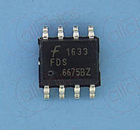 MOSFET P-канал 30В 11А 0.13Ом Fairchild FDS6675BZ SOP8