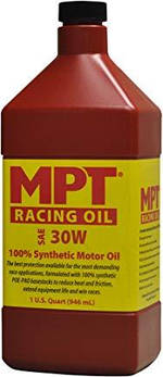 MPT ® 30W 100% Full Synthetic High Performance Racing Oil