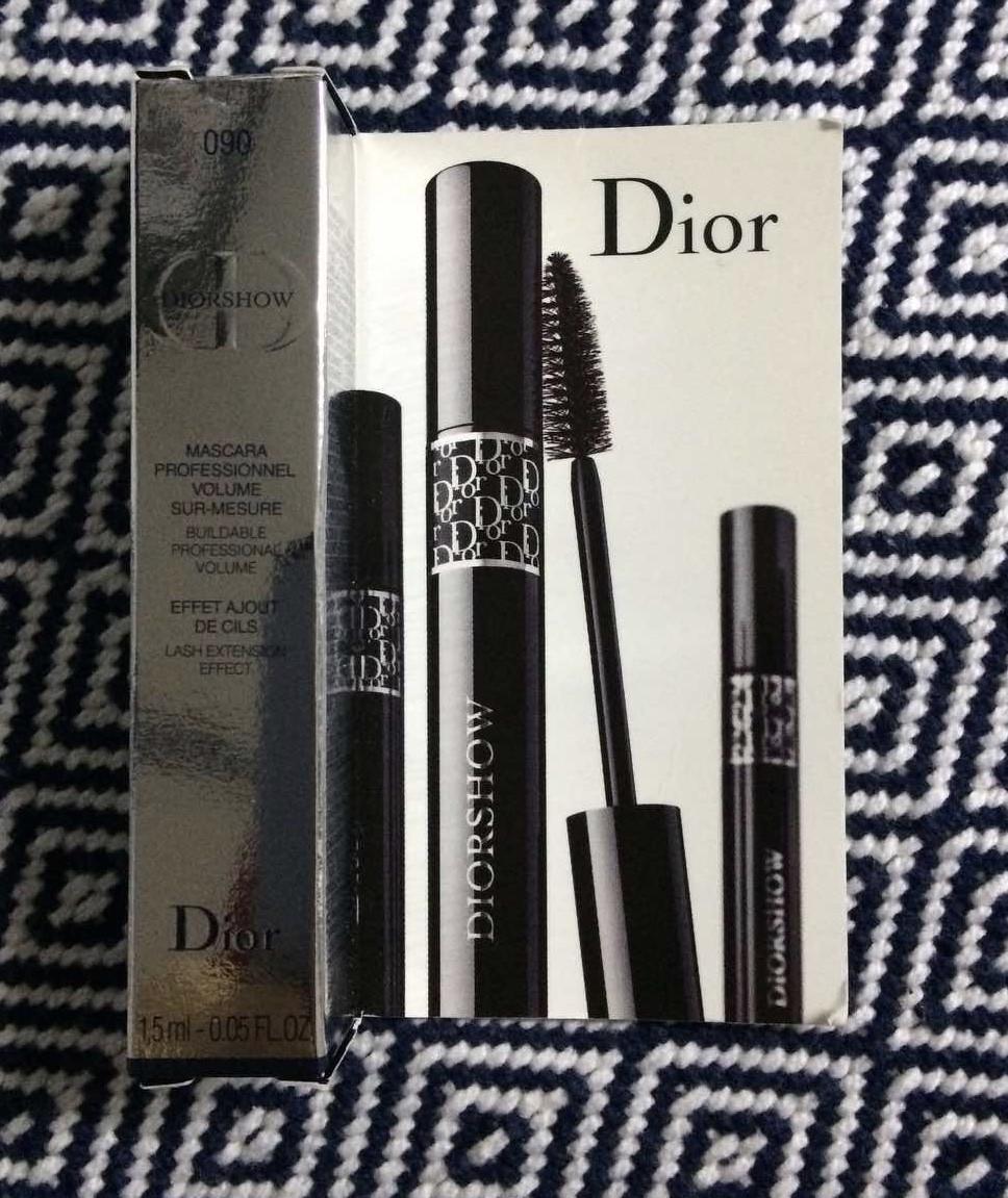 Christian Dior Diorshow Mascara Длинные и пушистые ресницы