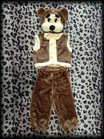 Детский карнавальный  костюм Медведь мех.3-5 лет, фото 1