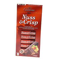 Шоколад молочный с фундуком и воздушным рисом  Nuss &Crisp Chateau Германия 200г
