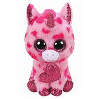 М'яка іграшка TY Рожевий єдиноріг Darling 25 см