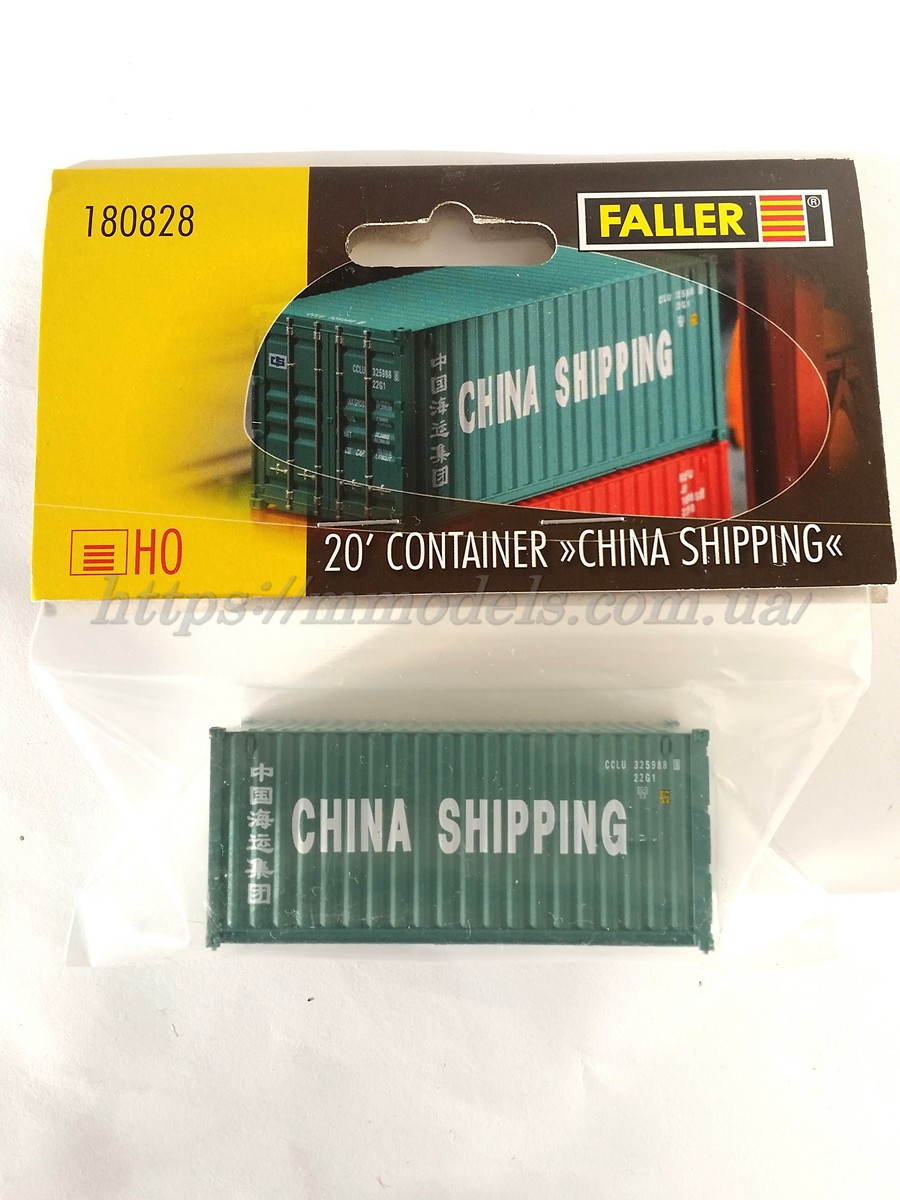 "Faller 180828 Контейнер 20 футовый "" CHINA SHIPPING"""
