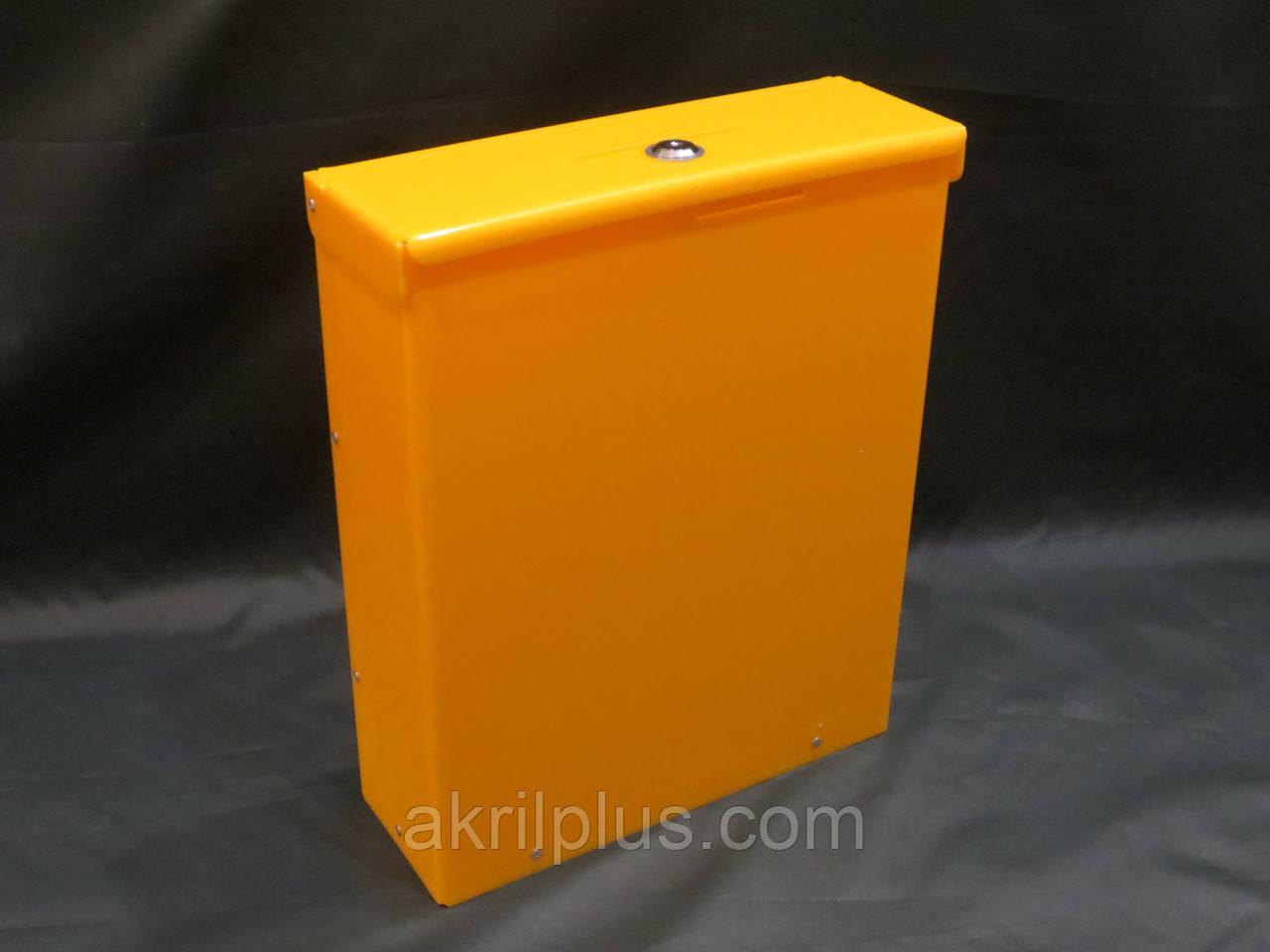 Ящик желтый 380*300*100