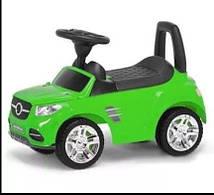 Машинка каталка детская MasterPlay музыкальная красная зеленый