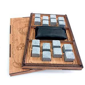 Камни для виски VIP 16 камней + мешочек  (СЕРТИФИКАТ), фото 2