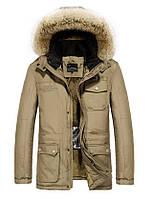 JP original Мужская куртка с подогревом экокожа джип парка, фото 1