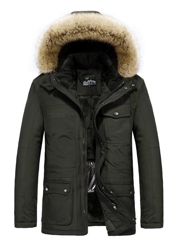 JP original Мужская куртка с подогревом экокожа джип парка