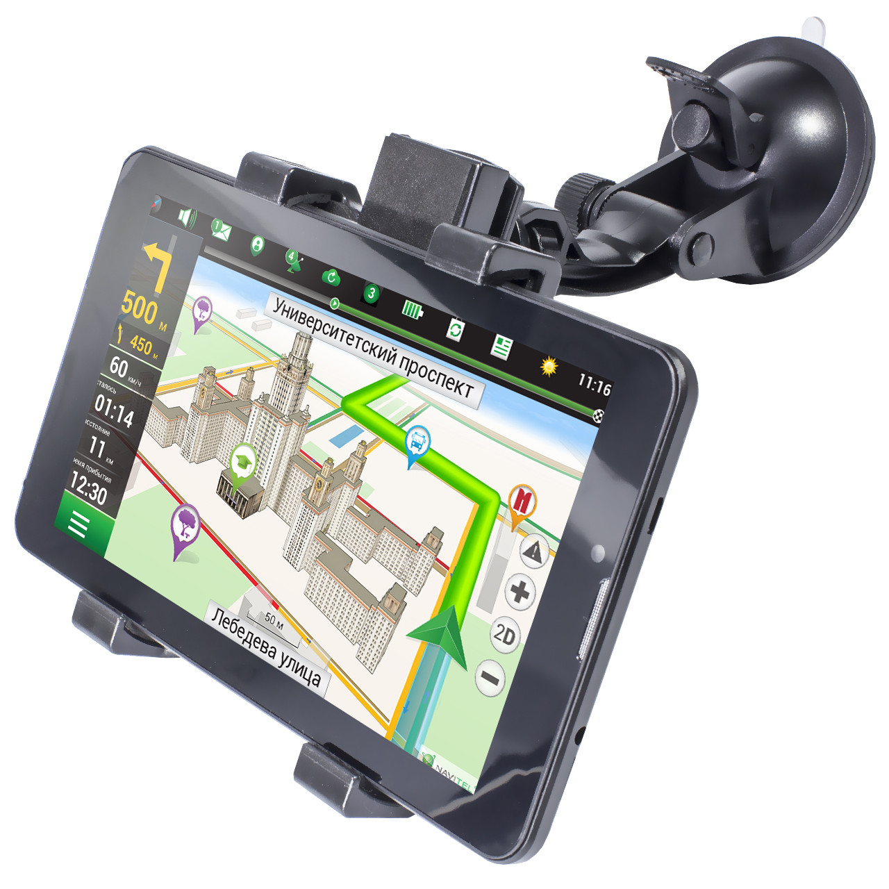 GPS навигатор Pioneer DVR700PI Max Навител + IGO (2437-6747а)