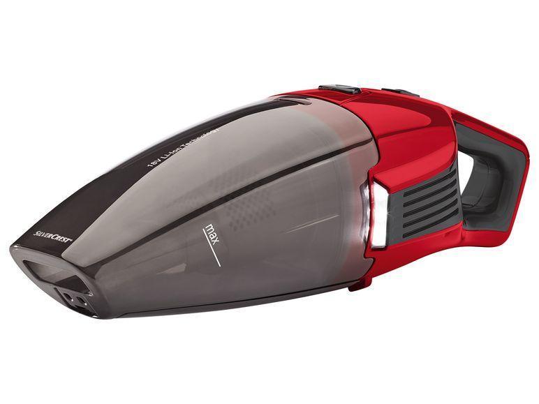 Автомобильный пылесос Silver Crest Akku-Handstaubsauger SAST 18 A1 Красный (LT9950)