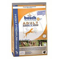 Сухой корм для собак Bosch Adult Lamb & Rice (ягненок+рис) 15кг