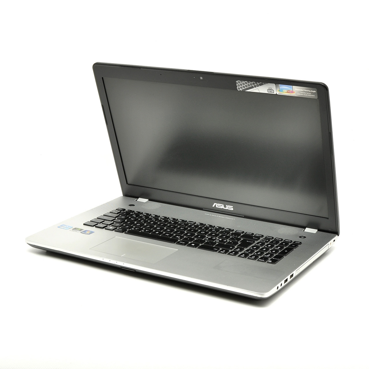 "Б/У Ноутбук Asus n76v / 17.3"" / Intel Core i7-3610QM / 16 RAM / 240 SSD / Intel HD 4000/GeForce 650M"