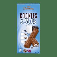 Шоколад молочный с печеньем орео Cookies & Milk  Chateau Германия 200г