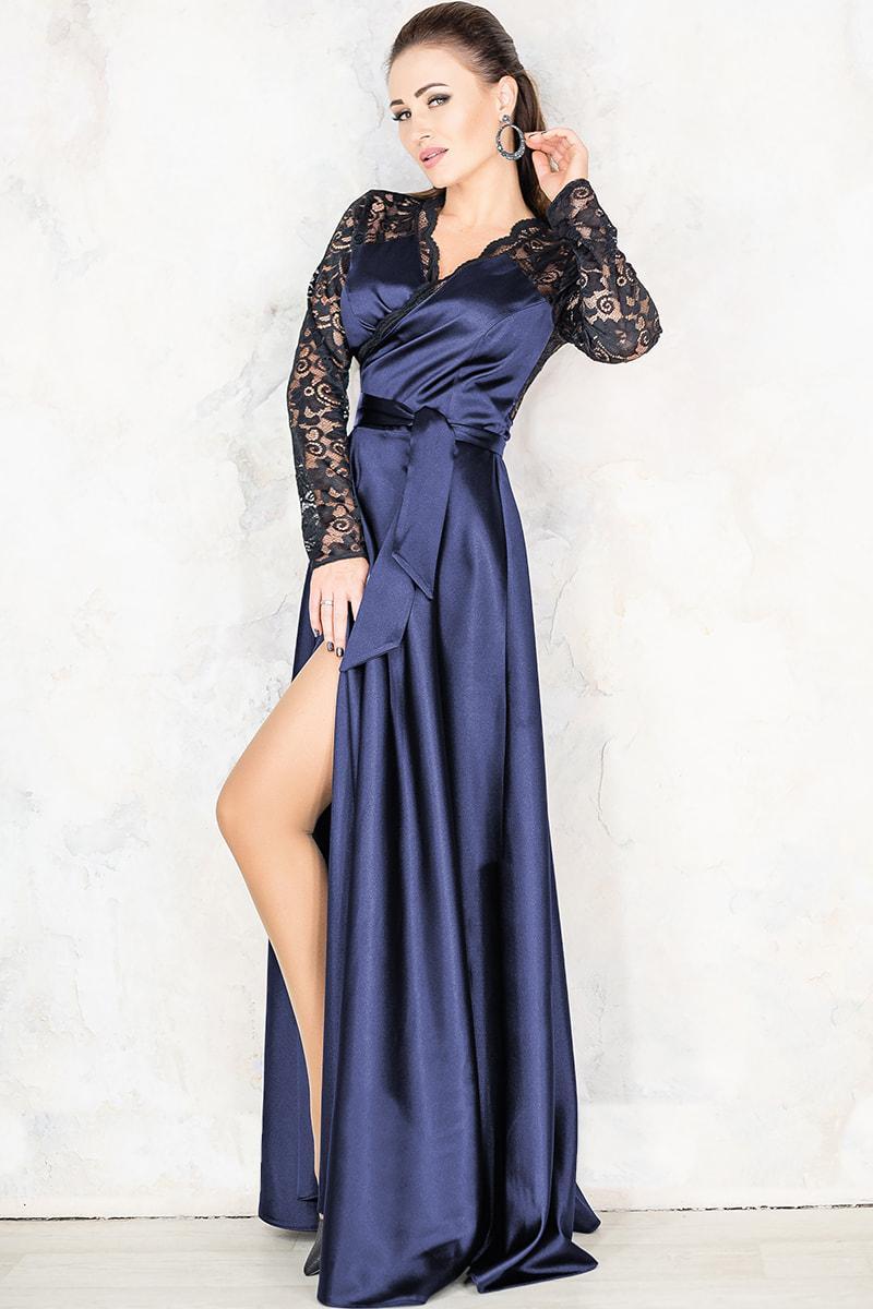 Синє вечірнє плаття Сатира