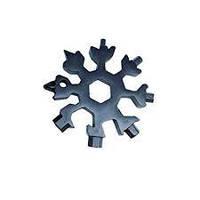 SNOWFLAKE WRENCH TOOL Универсальный Ключ, Шестигранный ключ, Многофункциональный ключ брелок