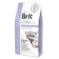Brit Veterinary Diet Cat Grain free Gastrointestinal 2кг - беззерновая диета при гастроэнтерите