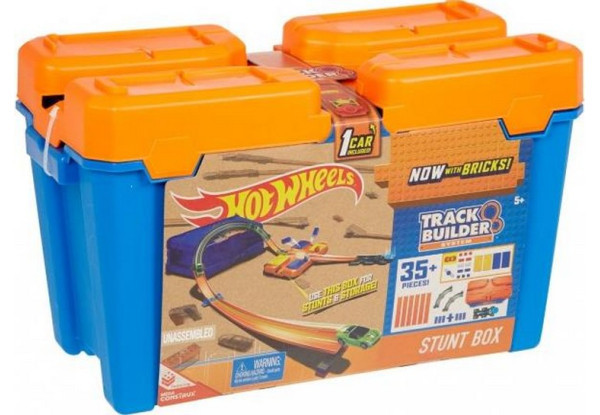 Ігровий набір Mattel Hot Wheels: Без кордонів ( Хот Вилс Набор конструктора трасс. Коробка для трюков )