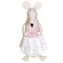 Крыса Прованс Сирка - интерьерная игрушка ручной работы