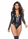 Боді з латексу. Латексний еротичний боді. Ігровий костюм для інтиму. Еротична білизна., фото 4