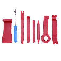 Набір інструментів для зняття обшивки автомобіля, 8 предметів