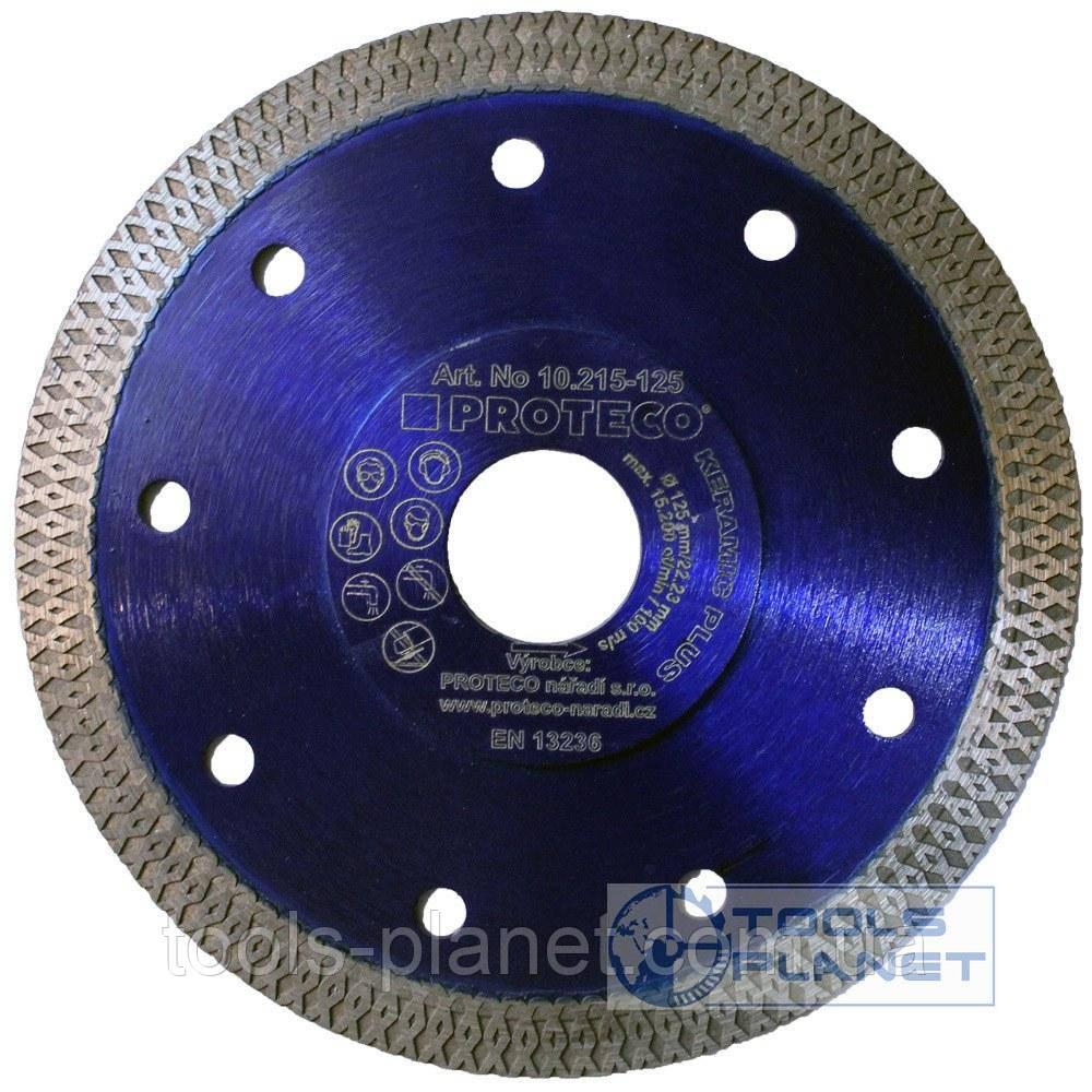 Алмазный диск по керамограниту Proteco 125 x 1,4 x 10 x 22,23 Keramic Plus