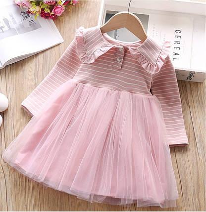 Нарядное платье на девочку  на длинный рукав  4-6 лет, фото 2