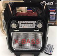 Радио RX 699 BT Портативная Аудиосистема Переносная Колонка Блютуз Аккумуляторная Колонка