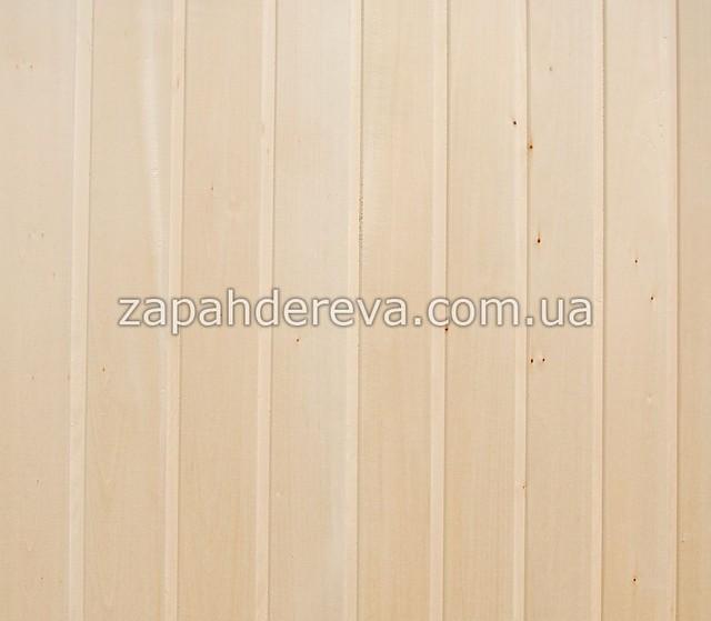 Вагонка деревянная сосна, ольха, липа Красный Луч