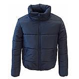 Модна жіноча куртка р. з 42 по 48 модель вик.джинс, фото 7